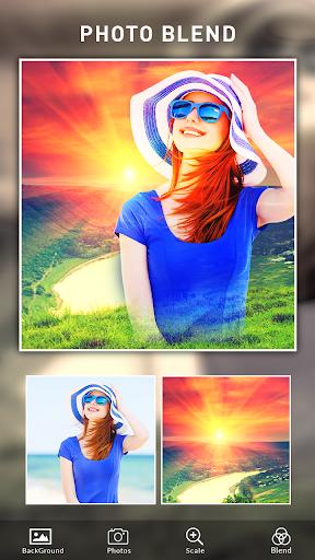 Photo Blend cam: Auto photo mixer blender merger 1.4 screenshots 5
