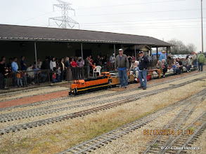 Photo: Engineer Brian Campopiano with BNSF 2008   2014-0315 DH3