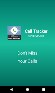 Call Tracker for bpm'online CRM- screenshot thumbnail