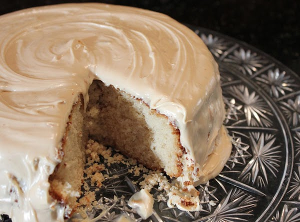 Spiced Apple Cider Cake With Salted Caramel Icing Recipe