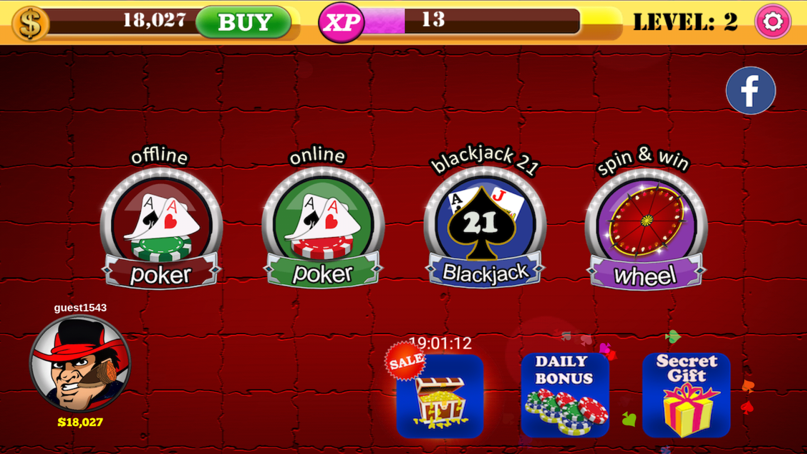 Game Offline Poker