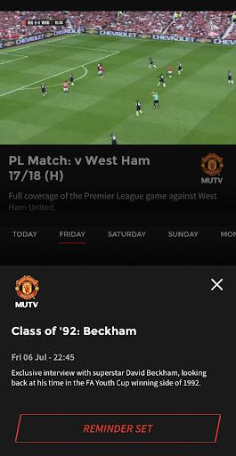 MUTV - Manchester United TV 2.4.0 screenshots 6