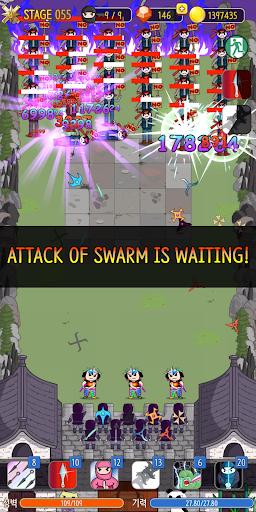 NINJA SHURIKEN - Legend Defense screenshot 3