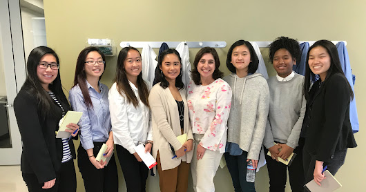 WIB-San Francisco YWIB: Clovis Oncology Job Shadowing Day for Lincoln High School Students, April 11, 2018