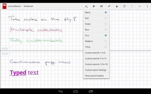 LectureNotes  screenshots 1