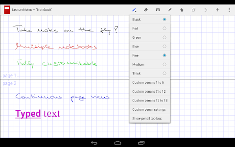 LectureNotes 2.8.14 (Paid)