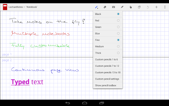 Download APK: LectureNotes v2.8.13 [Paid]