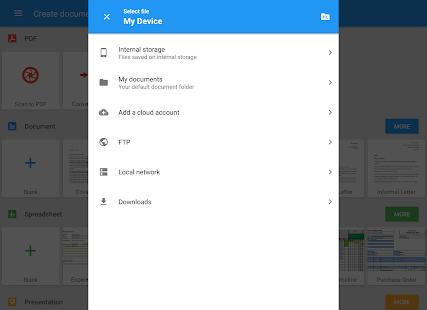 OfficeSuite + PDF Editor Screenshot 16