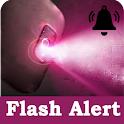 Flash Alert Notification Light icon