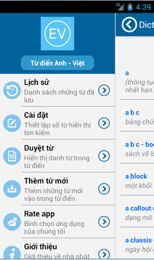 Từ điển Anh Việt Pro