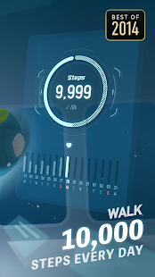 Walkr: Fitness Space Adventure Screenshot