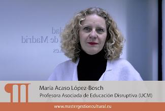 Photo: María Acaso López-Bosch (Módulo Difusión)