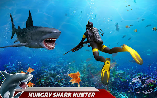 Angry Shark Attack: Deep Sea Shark Hunting Games 1.1 screenshots 6