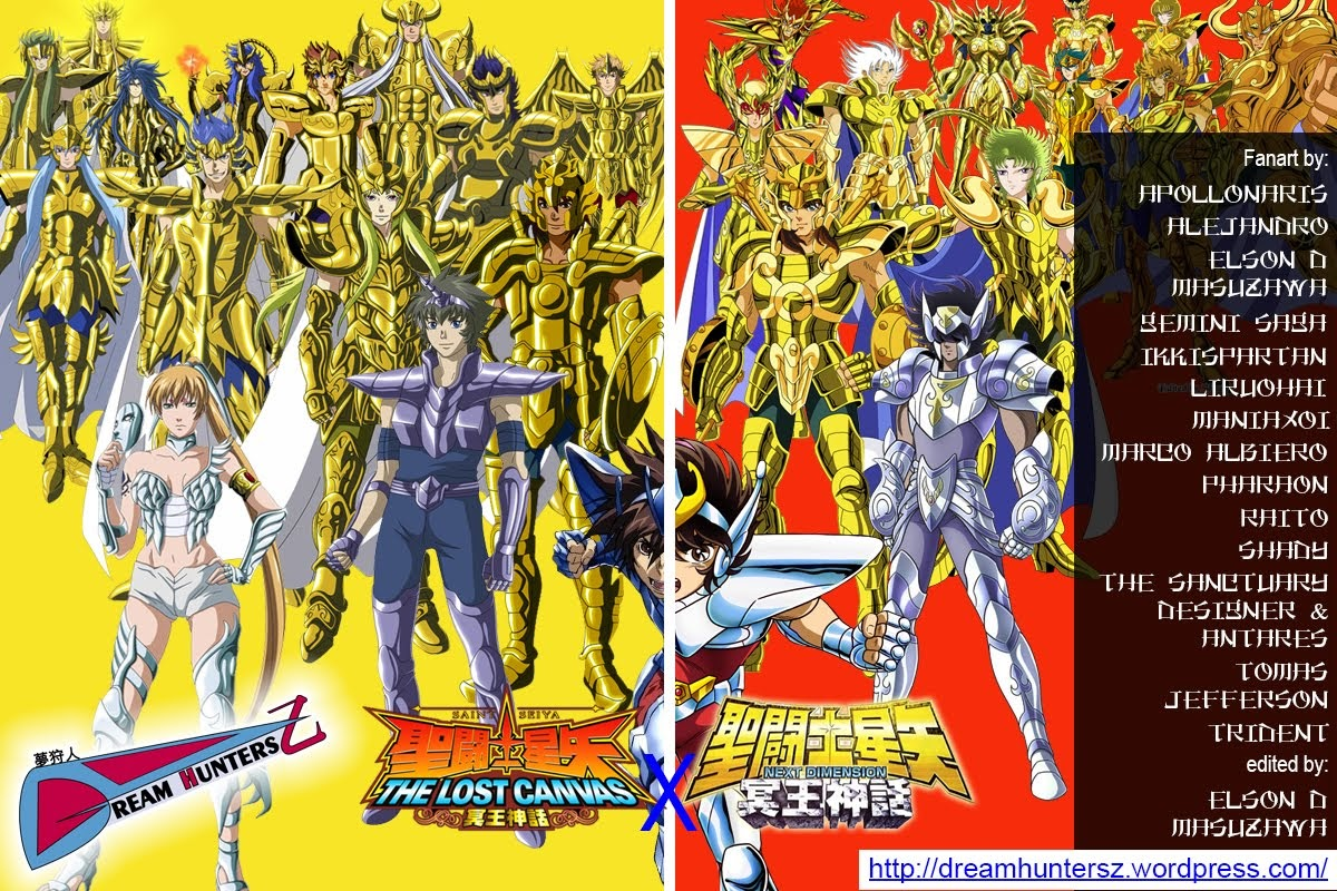 Saint Seiya THE LOST CANVAS x Saint Seiya NEXT DIMENSION