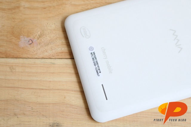 Cherry Mobile MAIA Smart Tab Review - speaker