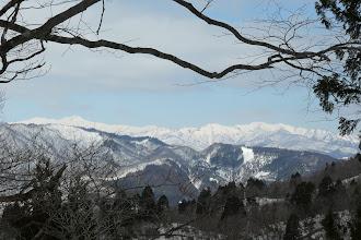 白山もまた見えだす
