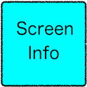 Screen Info icon