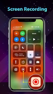 Phone 11 Launcher, OS 13 iLauncher, Control Center (MOD, VIP) v6.4.4 5