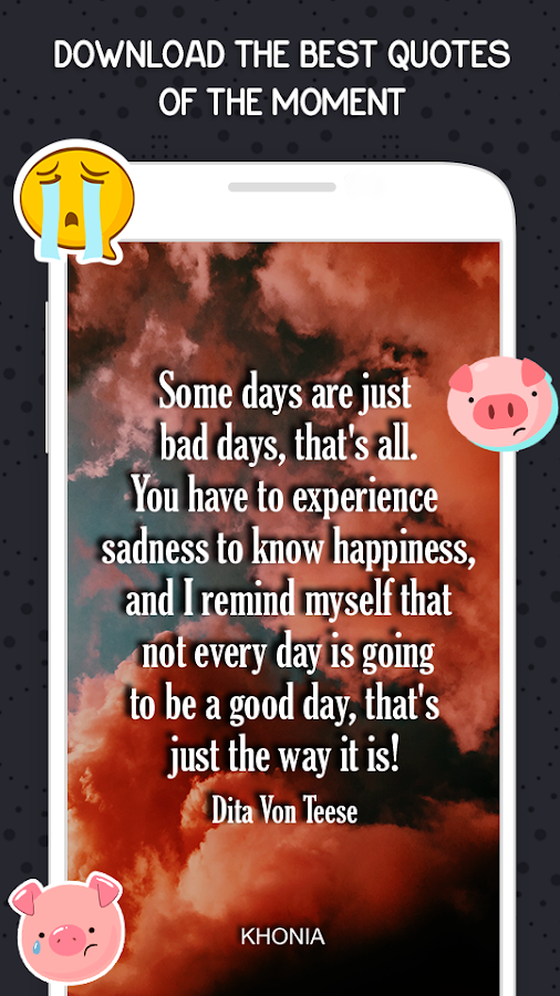 Sadness and Pain Quotes- screenshot