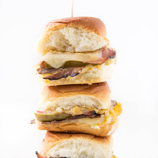 Baked Cuban Sliders