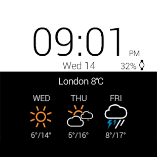Download Transparent clock & weather For PC Windows and Mac apk screenshot 27
