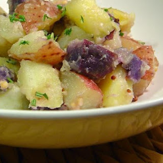 Warm Confetti Potato Salad