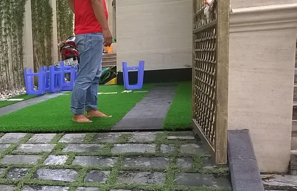 khách hàng thường quan tâm những đặc điểm gì của thảm sân golf
