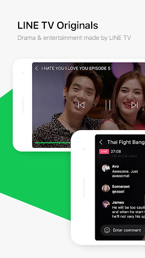LINE TV screenshot 2