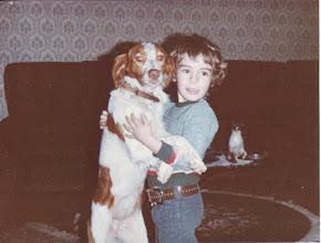 """Photo: Tango des """"z'amour"""" avec mon jeune maître"""