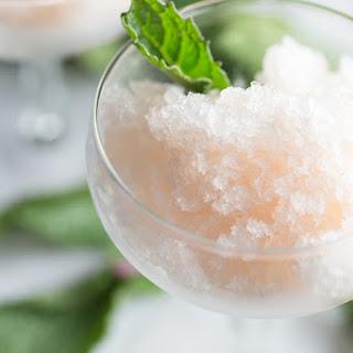 Grapefruit-Mint Granita.