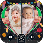 Cute Baby Image To Video Slide Show