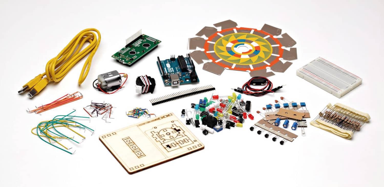 Kit original de iniciación Arduino UNO en español 120357- Tienda online Opitec de robotica, tecnologia y manualidades