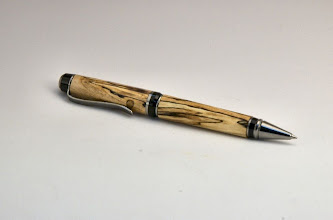 "Photo: Colin Poodry (The Next Generation) - Pen - 5 1/2"" - spalted maple"