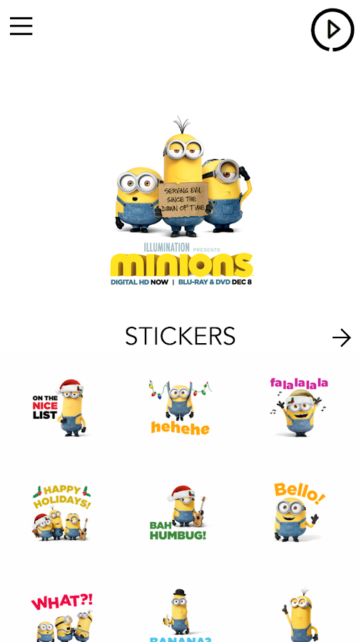 Minions Emoji- screenshot