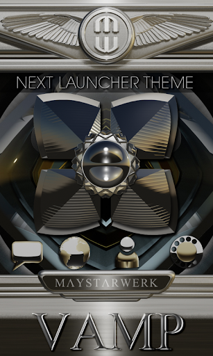 Next Launcher theme Vamp