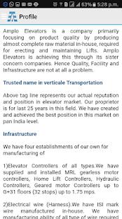 Amplo Elevators - náhled