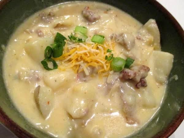 ~ Comforting Chunky Potato Soup ~ Recipe