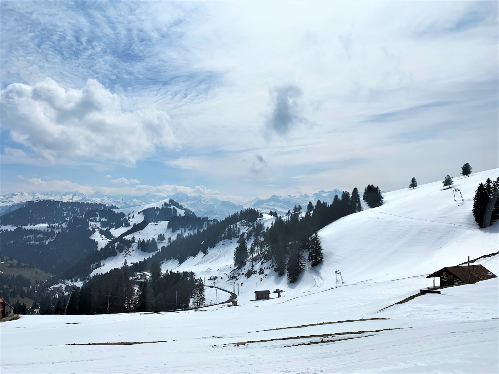 Mount Rigi in April - how to visit Mount Rigi