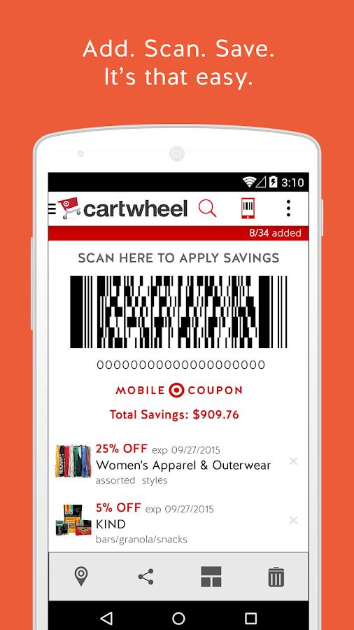 Cartwheel by Target- screenshot