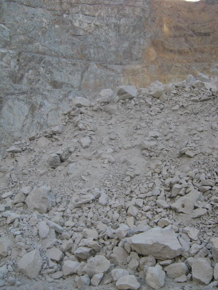 Южная стенка карьера месторождения Березитовое