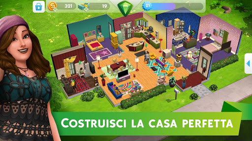 The Sims™ Mobile  άμαξα προς μίσθωση screenshots 2