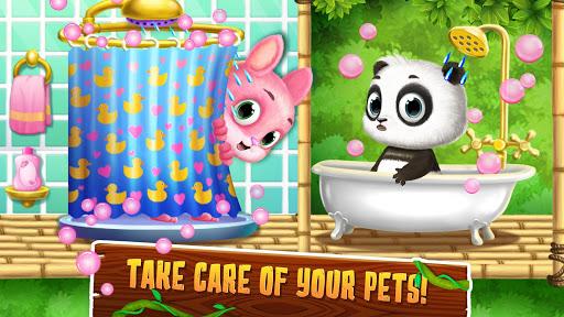 Panda Lu Treehouse - Build & Play with Tiny Pets apklade screenshots 1