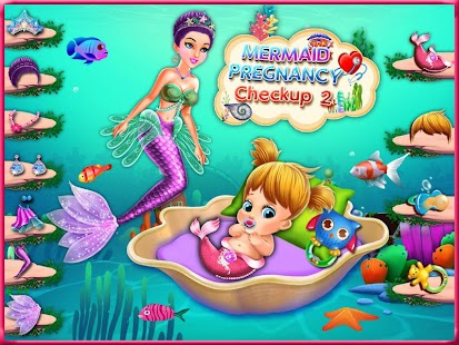 Mermaid Pregnancy CheckUp & Girls Maternity Doctor - náhled