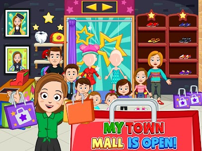 My Town : Shopping Mall MOD APK 1.00 [Characters Unlocked] 10