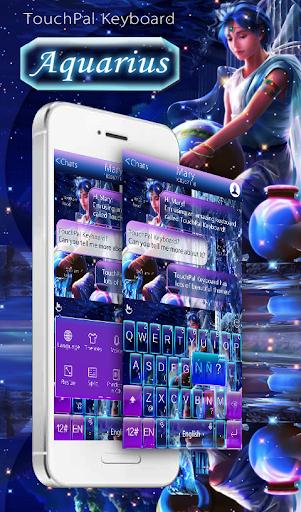 Stars Aquarius Keyboard Theme