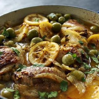 Moroccan-style Chicken Casserole.