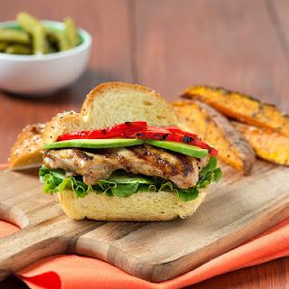 Asian Grilled Chicken Sandwich.