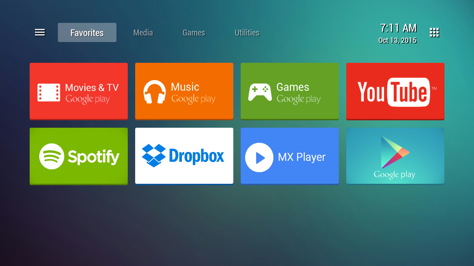Tvlauncher Applications Android Sur Google Play