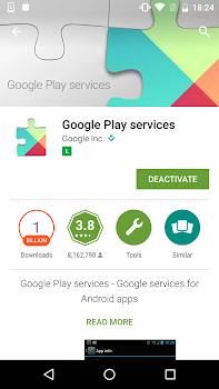 Play Services Information