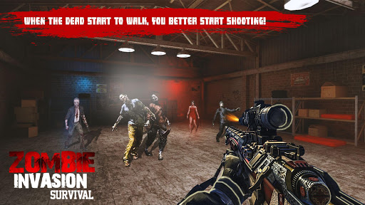 US Police Zombie Shooter Frontline Invasion FPS 1.2 screenshots 12